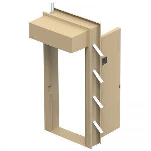 Anti Bandit Magnetic Locking Low Risk Doors Image