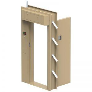 Anti Bandit Mechanical Locking High Risk Doors Image